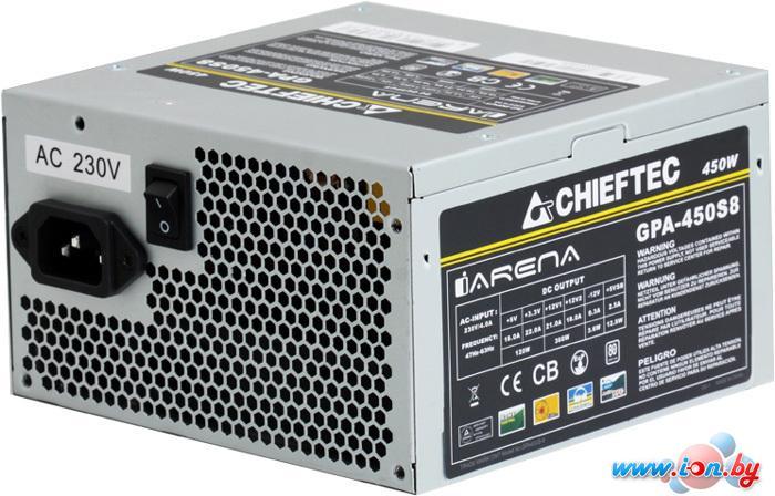 Блок питания Chieftec iArena GPA-450S8 450W в Могилёве