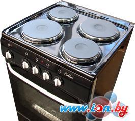 Кухонная плита De luxe 5004.12э (чёрная) в Могилёве