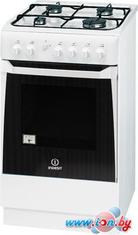 Кухонная плита Indesit KNJ1G217(W)/RU в Могилёве