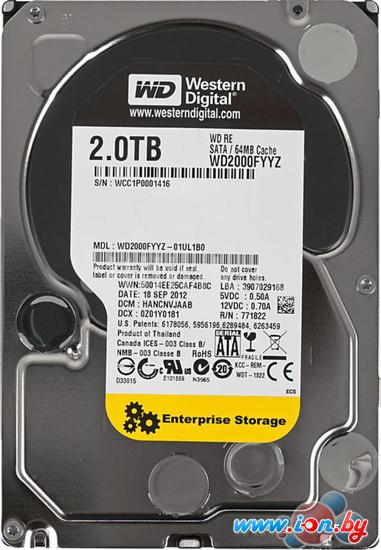Жесткий диск WD RE 2TB (WD2000FYYZ) в Гродно