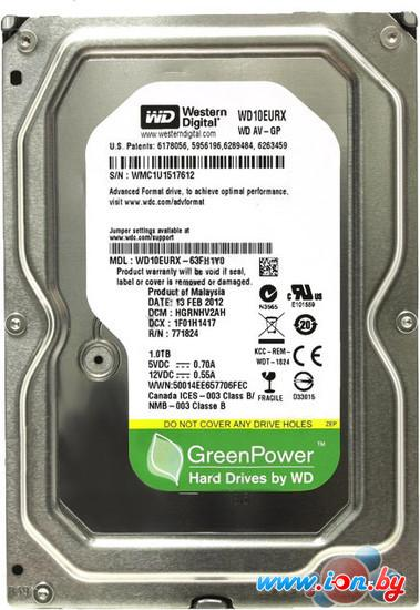 Жесткий диск WD AV-GP 1TB (WD10EURX) в Гродно