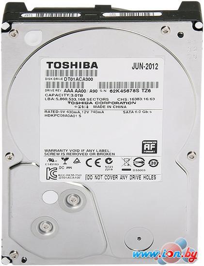 Жесткий диск Toshiba DT01ACA 3TB (DT01ACA300) в Гродно