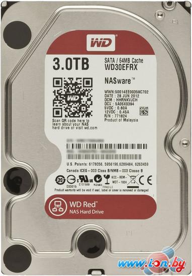 Жесткий диск WD Red 3TB (WD30EFRX) в Могилёве