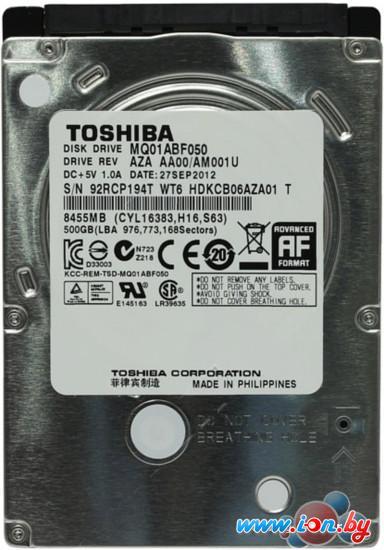 Жесткий диск Toshiba MQ01ABF 500GB (MQ01ABF050) в Гродно