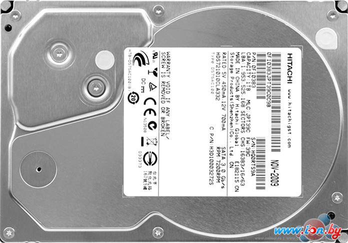 Жесткий диск Hitachi Deskstar 7K1000.C 500 Гб (HDS721050CLA362) в Могилёве