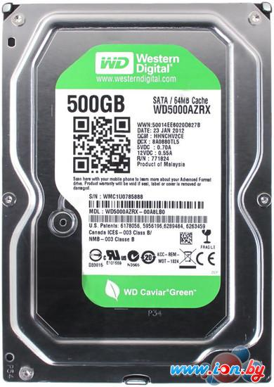 Жесткий диск WD Caviar Green 500GB (WD5000AZRX) в Гомеле