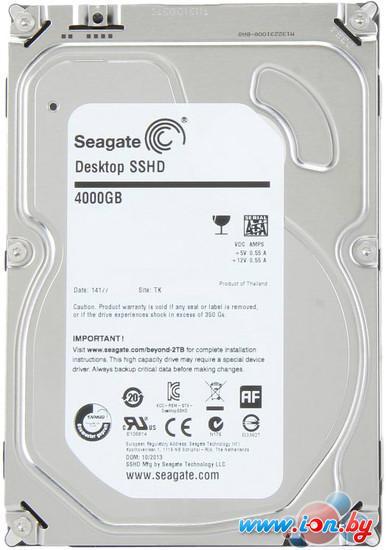 Гибридный жесткий диск Seagate Desktop SSHD 4TB (ST4000DX001) в Могилёве
