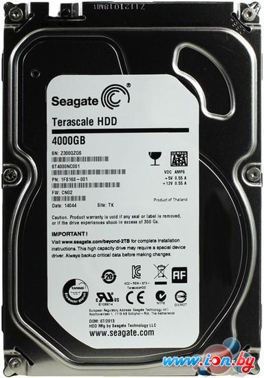 Жесткий диск Seagate Terascale HDD 4TB (ST4000NC001) в Могилёве