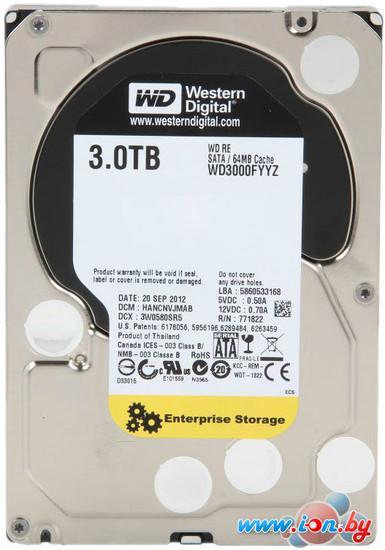 Жесткий диск WD RE 3TB (WD3000FYYZ) в Могилёве