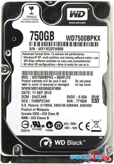 Жесткий диск WD Black 750GB (WD7500BPKX) в Могилёве