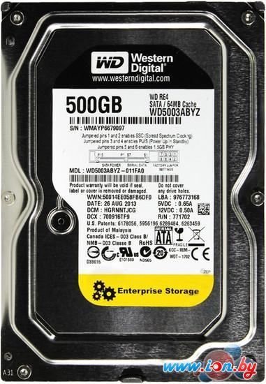 Жесткий диск WD RE4 500GB (WD5003ABYZ) в Гомеле