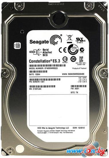 Жесткий диск Seagate Constellation ES.3 4TB (ST4000NM0023) в Могилёве