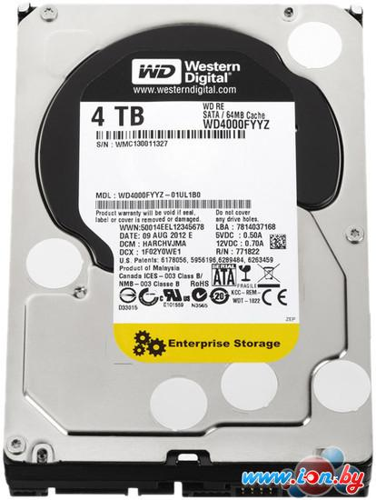 Жесткий диск WD RE 4TB (WD4000FYYZ) в Могилёве