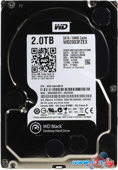 Жесткий диск WD Black 2TB (WD2003FZEX) в Могилёве
