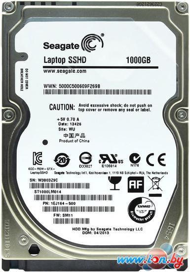 Гибридный жесткий диск Seagate Laptop SSHD 1TB (ST1000LM014) в Гомеле