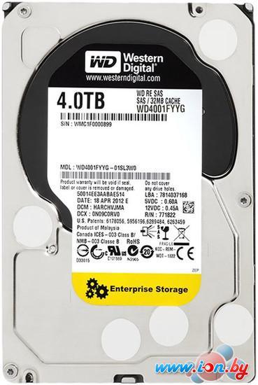 Жесткий диск WD RE 4TB (WD4001FYYG) в Гомеле