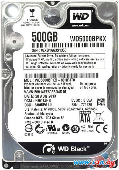 Жесткий диск WD Black 500GB (WD5000BPKX) в Могилёве
