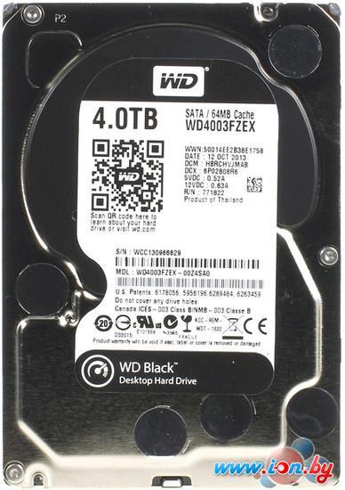 Жесткий диск WD Black 4TB (WD4003FZEX) в Могилёве