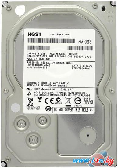 Жесткий диск Hitachi Ultrastar 7K4000 2TB (HUS724020ALA640) в Могилёве
