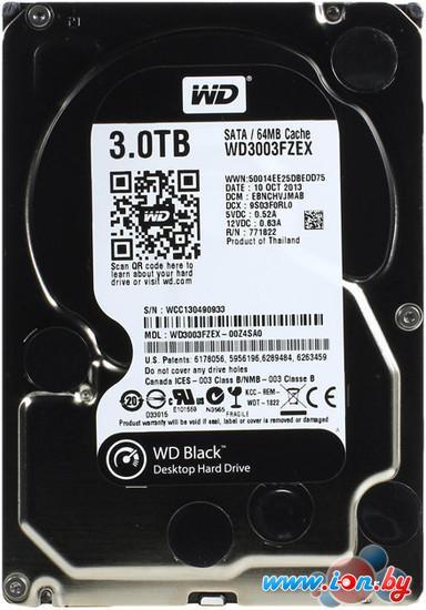 Жесткий диск WD Black 3TB (WD3003FZEX) в Могилёве
