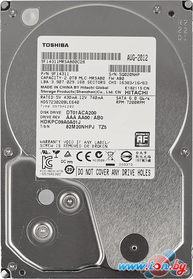 Жесткий диск Toshiba DT01ACA 2TB (DT01ACA200) в Могилёве