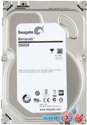 Жесткий диск Seagate Barracuda 7200.14 2000GB (ST2000DM001) в Гомеле