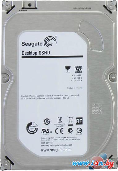 Гибридный жесткий диск Seagate Desktop SSHD 1TB (ST1000DX001) в Могилёве