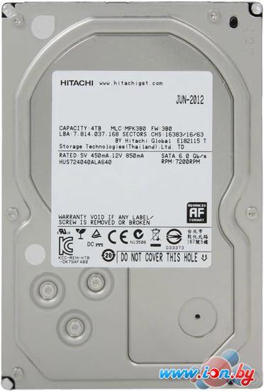 Жесткий диск Hitachi Ultrastar 7K4000 4TB (HUS724040ALA640) в Могилёве