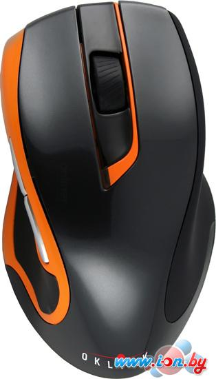 Мышь Oklick 408 MW Wireless Optical Mouse Black/Orange в Могилёве