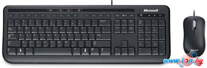 Мышь + клавиатура Microsoft Wired Desktop 600 в Могилёве