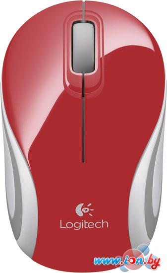 Мышь Logitech Wireless Mini Mouse M187 Red в Могилёве