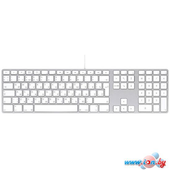 Клавиатура Apple Keyboard with Numeric Keypad (MB110RS) в Могилёве