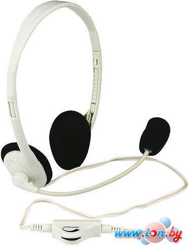 Наушники с микрофоном Defender Aura HN-102 (белый) в Могилёве