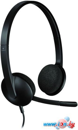Наушники с микрофоном Logitech USB Headset H340 в Могилёве