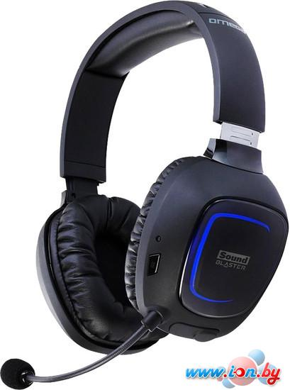 Наушники с микрофоном Creative Sound Blaster Tactic3D Omega Wireless в Могилёве