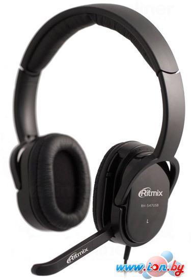 Наушники с микрофоном Ritmix RH-547 USB в Могилёве