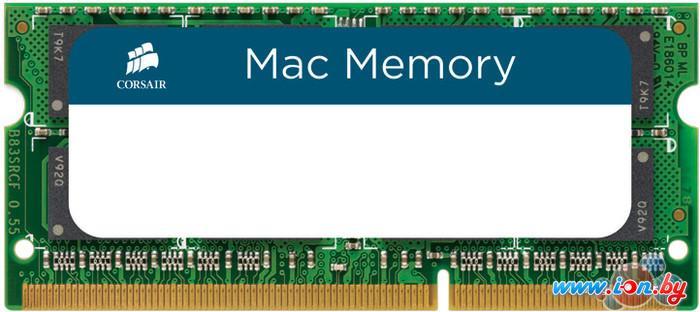 Оперативная память Corsair Mac Memory 8GB DDR3 SO-DIMM PC3-12800 (CMSA8GX3M1A1600C11) в Могилёве