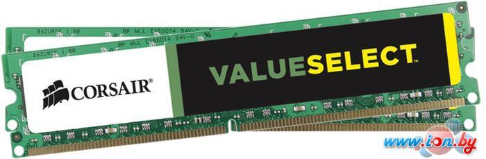 Оперативная память Corsair Value Select 2x4GB DDR3 PC3-12800 KIT (CMV8GX3M2A1600C11) в Могилёве