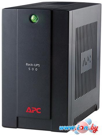 Источник бесперебойного питания APC Back-UPS 500VA Standby with Schuko (BC500-RS) в Могилёве