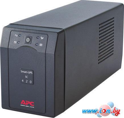 Источник бесперебойного питания APC Smart-UPS SC 420VA (SC420I) в Могилёве