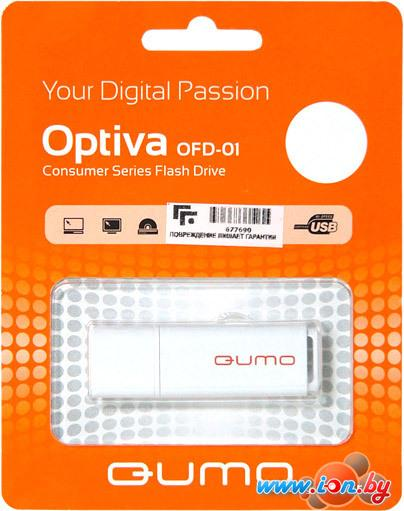 USB Flash QUMO Optiva 01 64Gb White в Могилёве