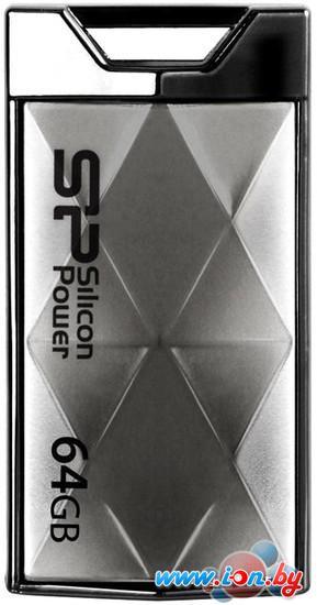 USB Flash Silicon-Power Touch 850 Titanium 64GB (SP064GBUF2850V1T) в Могилёве
