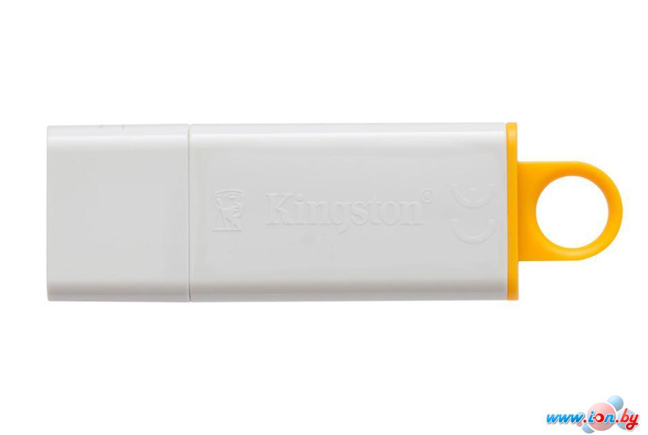 USB Flash Kingston DataTraveler G4 8GB Yellow (DTIG4/8GB) в Могилёве