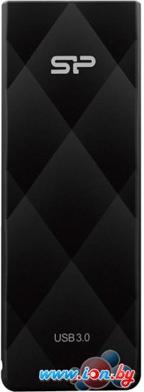 USB Flash Silicon-Power Blaze B20 Black 32GB (SP032GBUF3B20V1K) в Могилёве