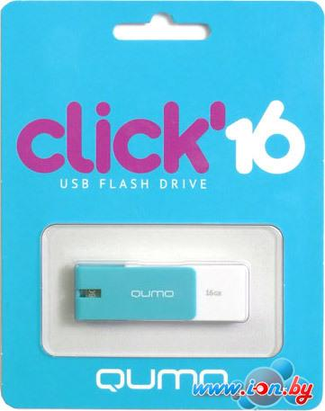 USB Flash QUMO Click 16Gb Azure в Гомеле