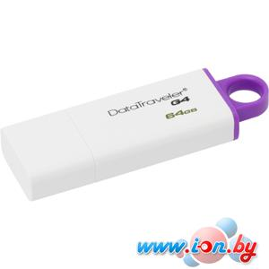 USB Flash Kingston DataTraveler G4 64GB Violet (DTIG4/64GB) в Могилёве