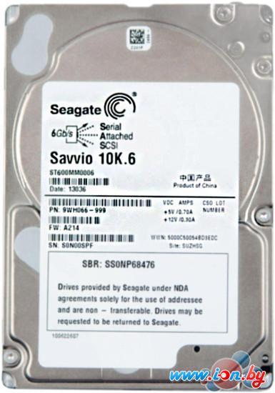 Жесткий диск Seagate Savvio 10K.6 600GB (ST600MM0006) в Могилёве