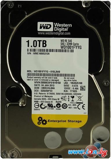 Жесткий диск WD RE 1TB (WD1001FYYG) в Могилёве