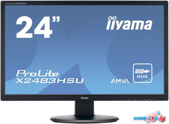 Монитор Iiyama ProLite X2483HSU-B1 в Могилёве