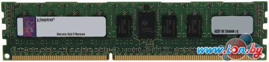 Оперативная память Kingston ValueRAM 8GB DDR3 PC3-12800 (KVR16LR11S4/8) в Могилёве